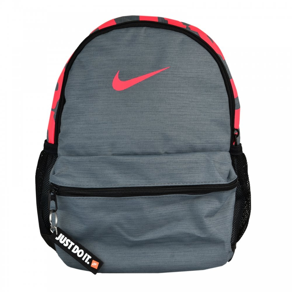 c9d2496126 NIKE Nike Brasilia JDI Mini Backpack (Grey Pink) - Sports from Loofes UK