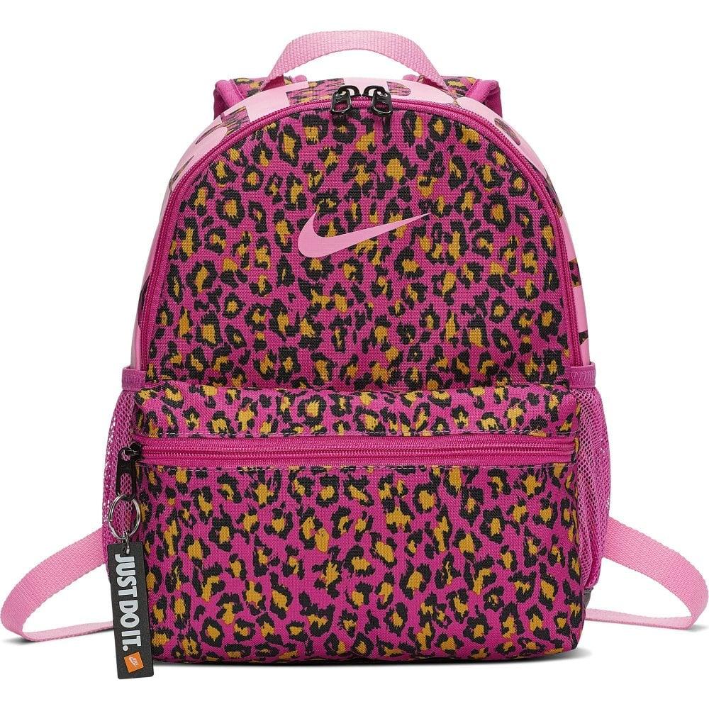 7f7d43984b Nike Brasilia JDI Printed Mini Backpack (Pink) - Kids from Loofes UK