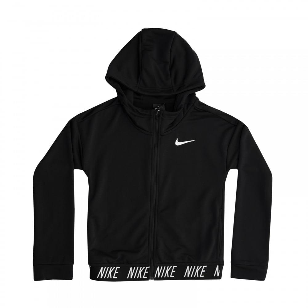 Nike Girls Studio Dri Fit Hoodie (Black) - Hoodies from ...