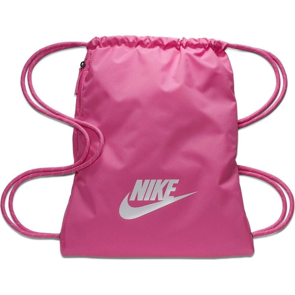 Culo escapar Buen sentimiento  Nike Heritage 2.0 Gym Bag (Pink) - Sports from Loofes UK