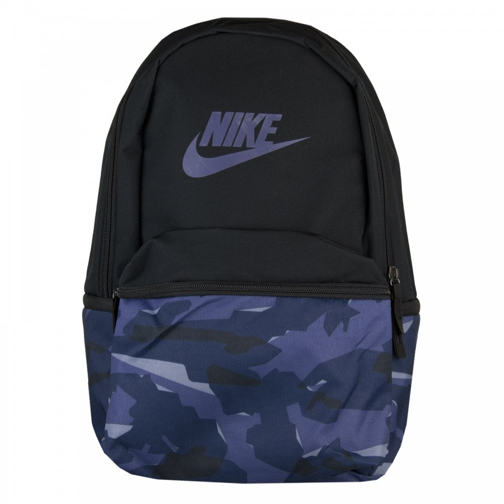 Nike Heritage Camouflage Backpack (Blue Black) - Bags from Loofes UK df09866104