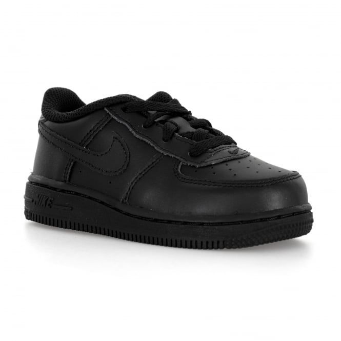 8f2efa2018790 Nike Infants Air Force 1 Low Trainers (Black) - Kids from Loofes UK