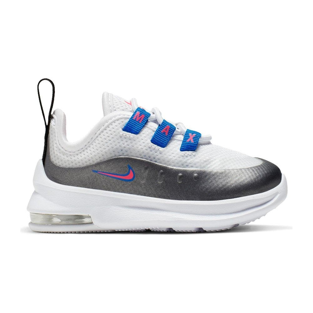 ventas especiales diseño moderno envio GRATIS a todo el mundo NIKE Nike Infants Air Max Axis Trainers (White/Silver) - Kids from ...