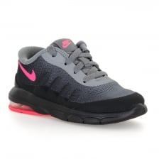 Nike Infants Air Max Invigor Trainers (Grey/Black/Pink)