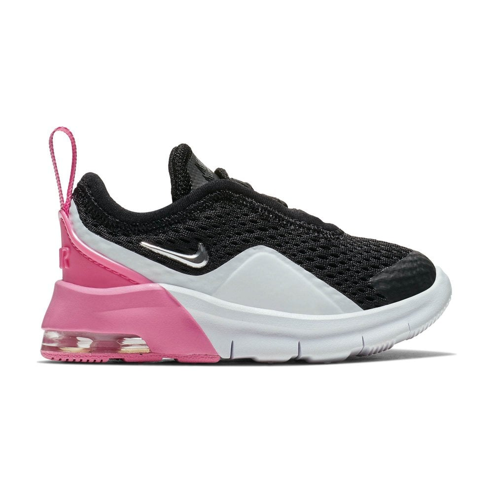 best loved 9509f 8ea0c ... wholesale nike infants air max motion 2 trainers black white pink 6824a  28f82
