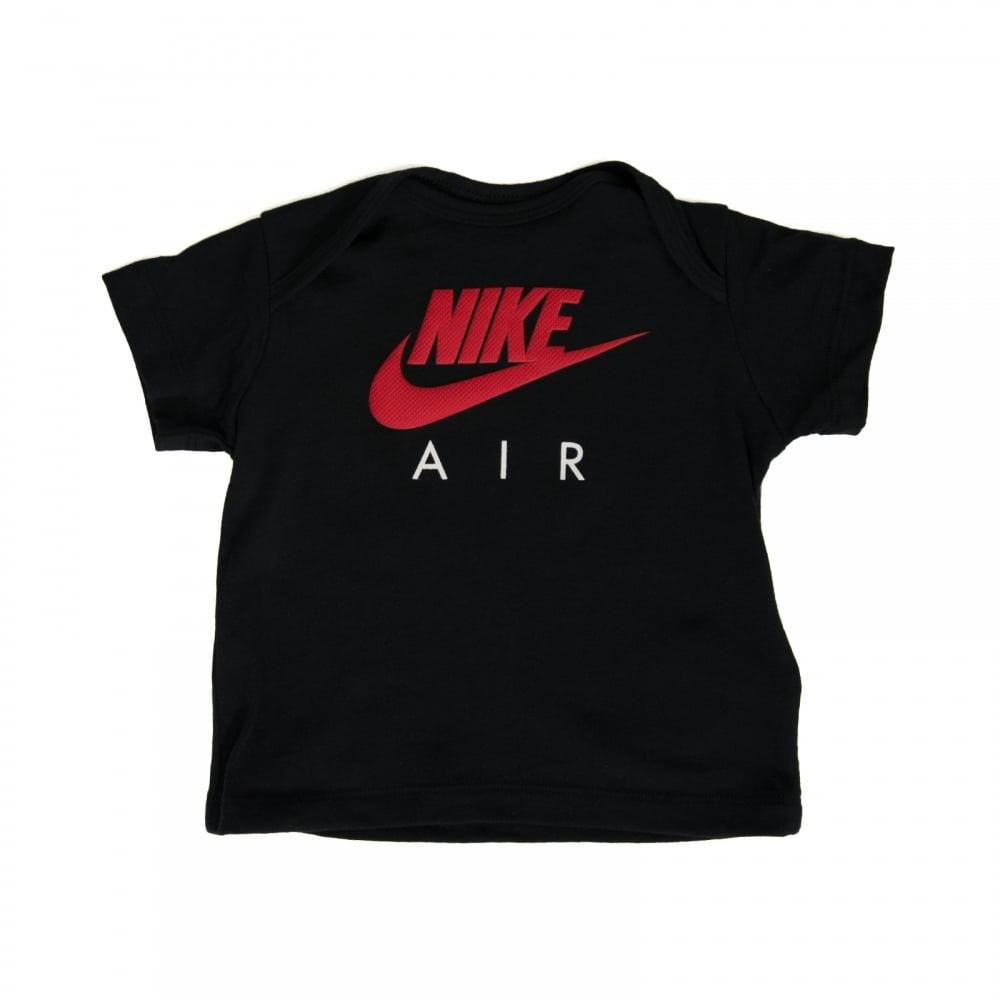 nike air t shirt black