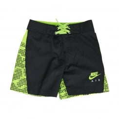Nike Infants Board 216 Shorts (Black/Green)