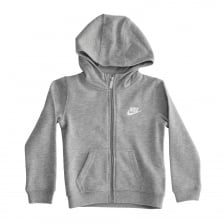 Nike Infants Club Fleece 316 Hood Top (Grey)