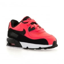 Nike Infants Girls Air Max 90 Mesh 317 Trainers (Pink/White)