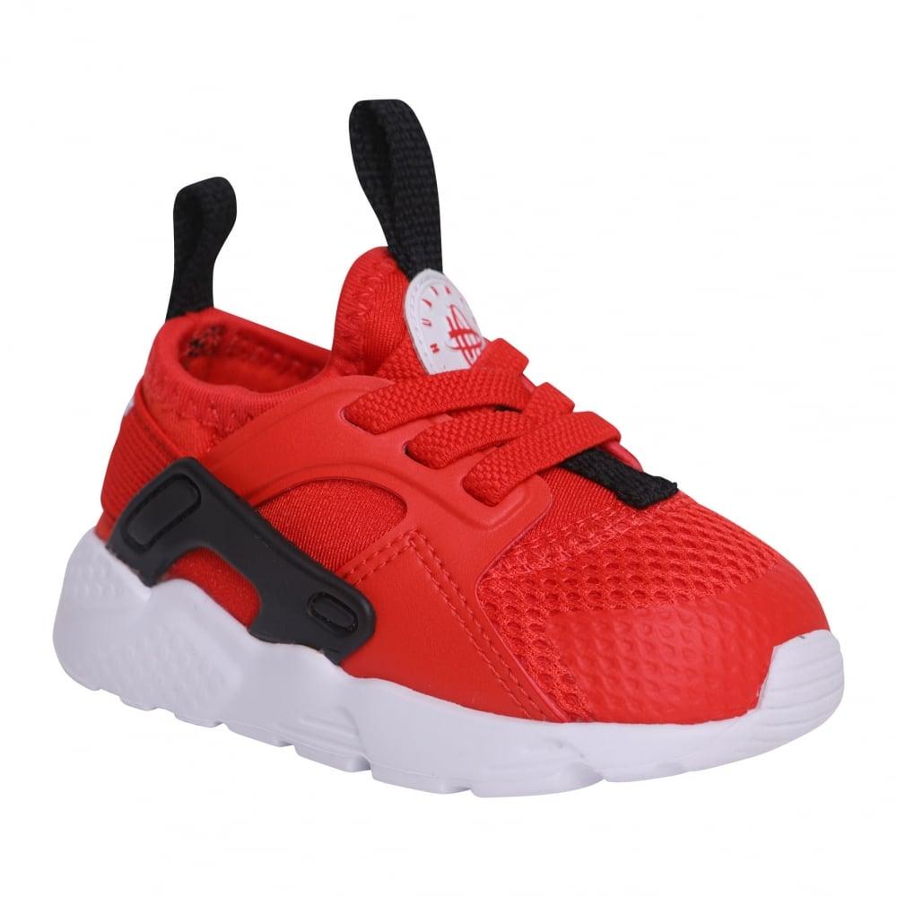 875fb3bedffd3 ... sweden nike infants huarache run ultra 218 trainers red 33907 5f003