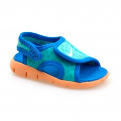 Nike Infants Sunray Adjust 4 (Light Retro/White/Bright Blue/Citrus)