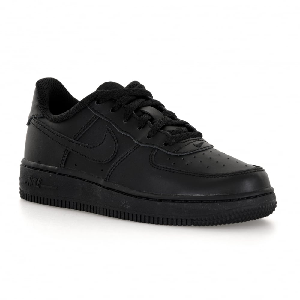 071485c78d95 NIKE Nike Juniors Air Force 1 Low Trainers (Black) - Kids from Loofes UK
