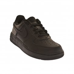 Nike Juniors Air Force 1 (PS) Trainers (Black)