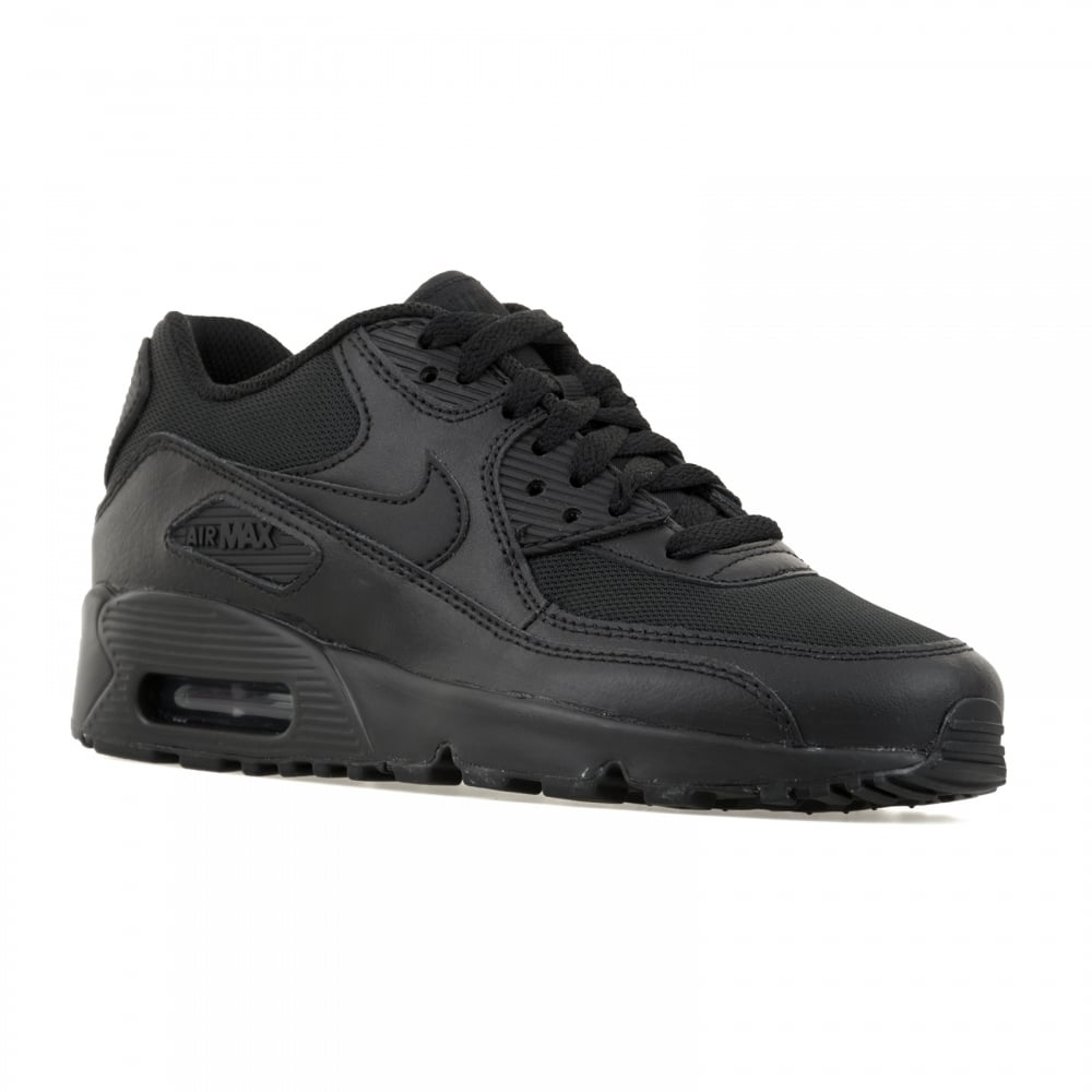 4b3d77f6df60 ... promo code for nike juniors air max 90 mesh 316 trainers black 12e09  1d729