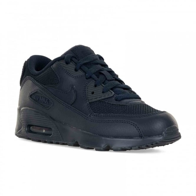 1c4addc670 nike juniors air max 90 mesh 316 trainers navy kids from loofes uk