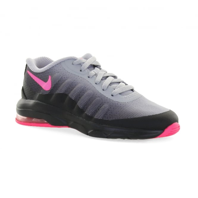 ... nike juniors air max invigor trainers black pink kids from loofes uk . 7a440c0cb