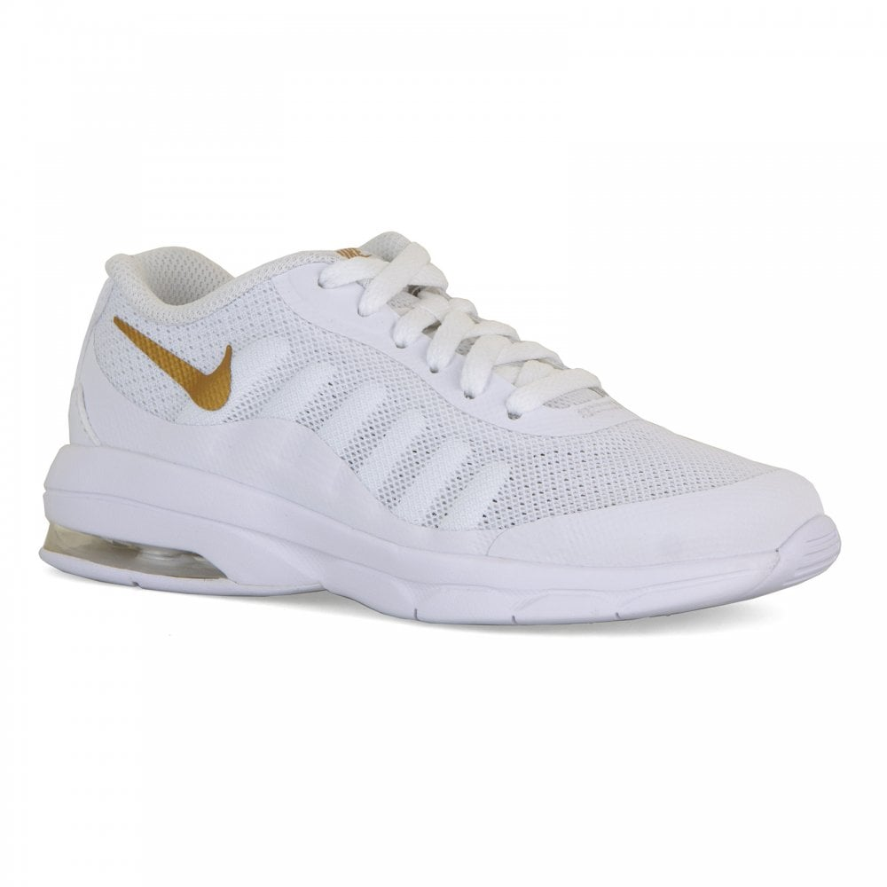 0f4602da9c NIKE Nike Juniors Air Max Invigor Trainers (White) - Kids from Loofes UK