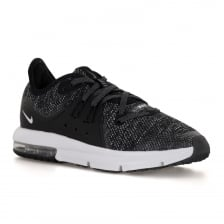 Nike Juniors Air Max Sequent 3 118 Trainers (Black/White)