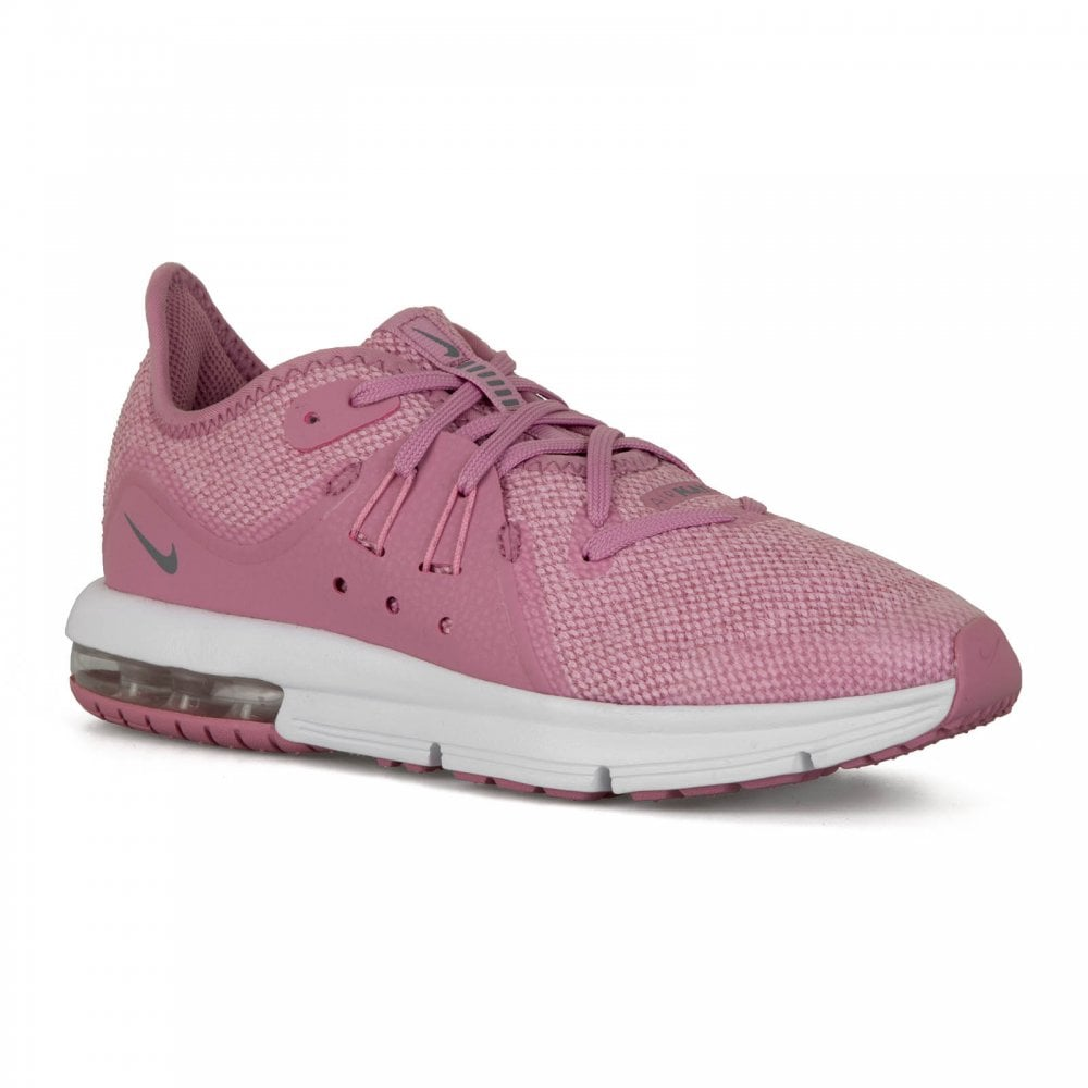 7832cf03f7 Nike Juniors Air Max Sequent 318 Trainers (Pink) - Kids from Loofes UK