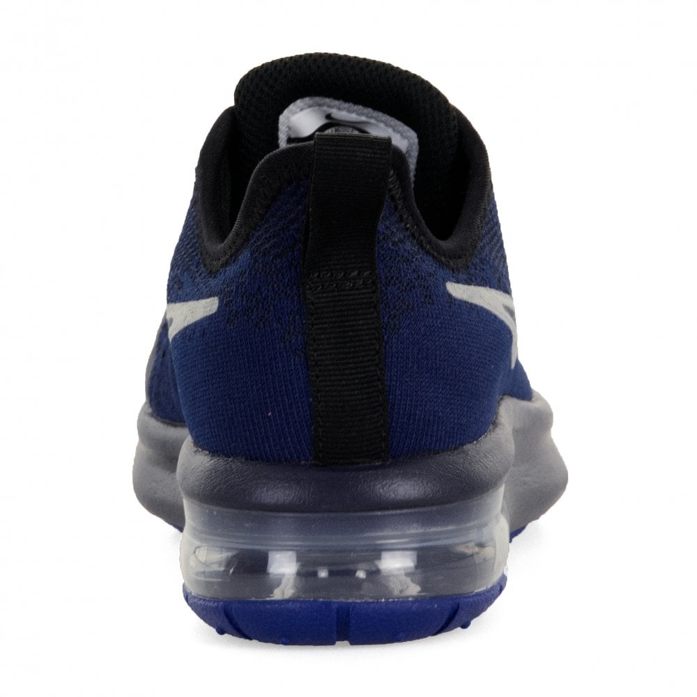 3c2ee1db67 NIKE Nike Juniors Air Max Sequent 4 Trainers (Blue) - Kids from ...