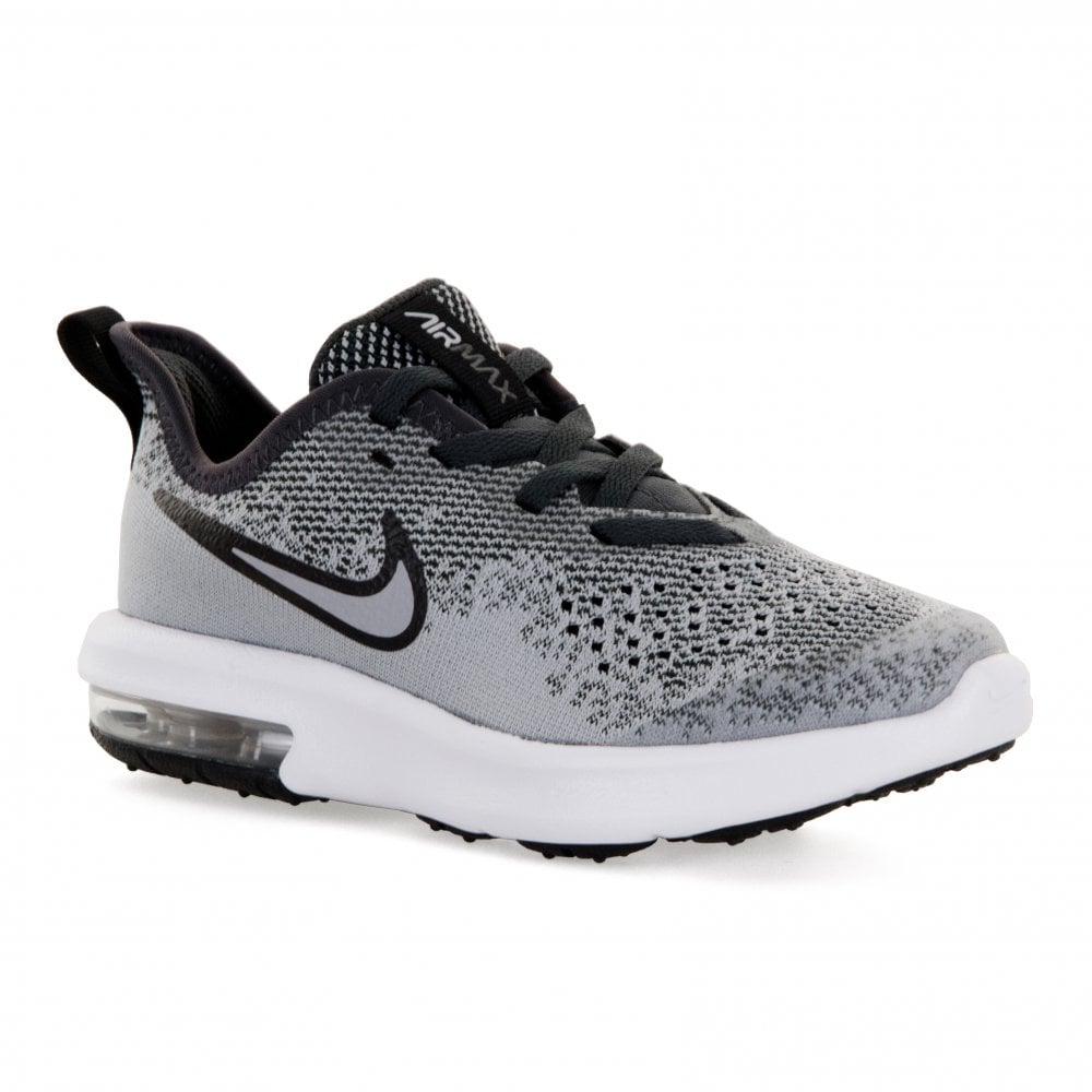 Nike Juniors Air Max Sequent 4 Trainers (Grey) - Kids from Loofes UK d631c7ce4