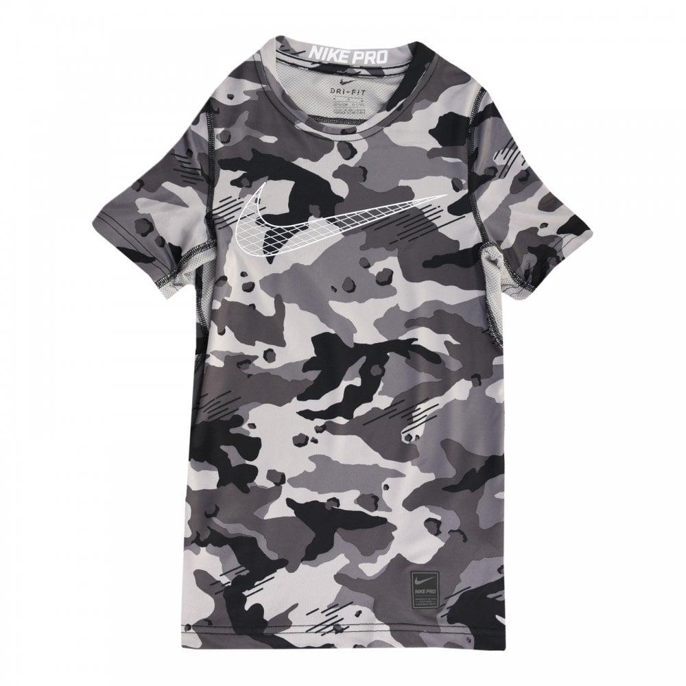 79dc36890 Nike Juniors Camo T-Shirt (Grey) - Kids from Loofes UK