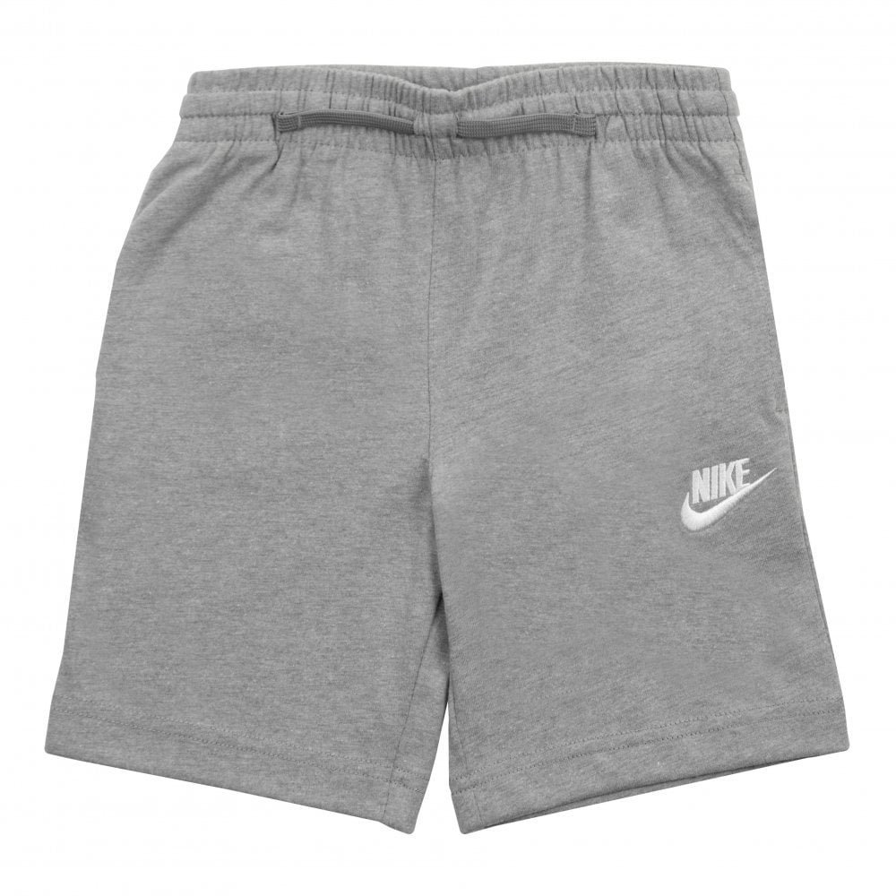 cec03686e4b77 Nike Juniors Club Jersey Shorts (Grey) - Kids from Loofes UK