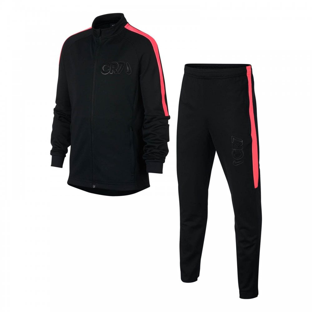 32bdf5653652 NIKE Nike Juniors Dry CR7 Academy Track Suit (Black) - Kids from ...