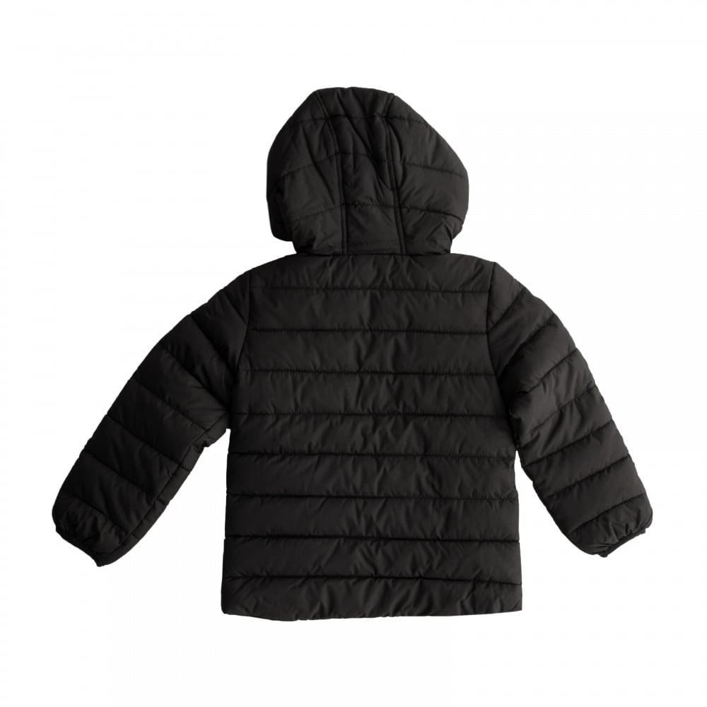 reputable site fd8c4 414f1 Nike Juniors Girls Hooded Padded 316 Jacket (Black)