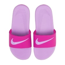 Nike Juniors Girls Kawa Slide Flip Flops (Pink/Lilac)