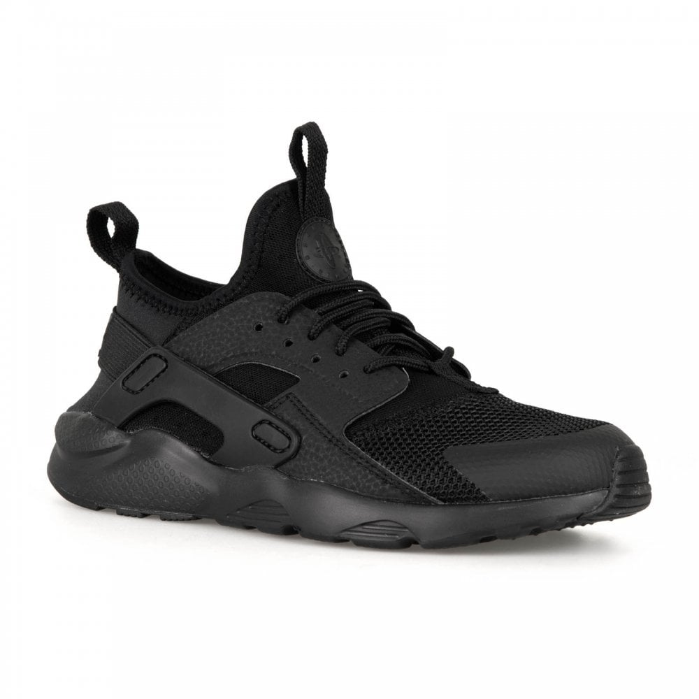 8de64268ee8 ... switzerland nike juniors huarache run ultra 318 trainers black black  f98db aad07 ...