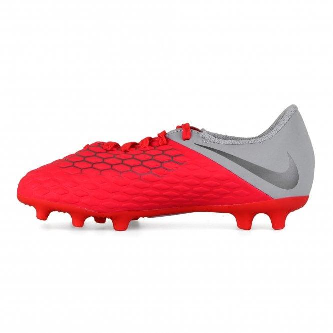 uk availability 81494 8988b Juniors Hypervenom 3 Club FG Football Boots (Red)