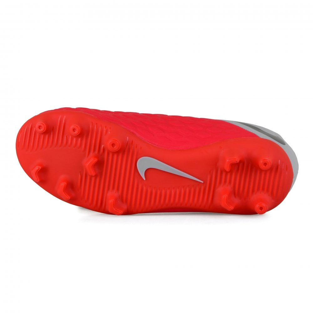 uk availability 8f56b a9505 Juniors Hypervenom 3 Club FG Football Boots (Red)