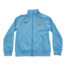 Nike Juniors Manchester City 2017/2018 Track Jacket (Blue)