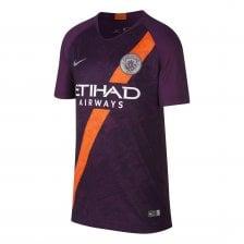 7f918022d Nike Juniors Manchester City 2018 19 3rd Shirt (Purple)