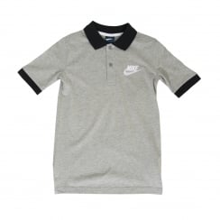 Nike Juniors Matchup 316 Polo Shirt (Grey)