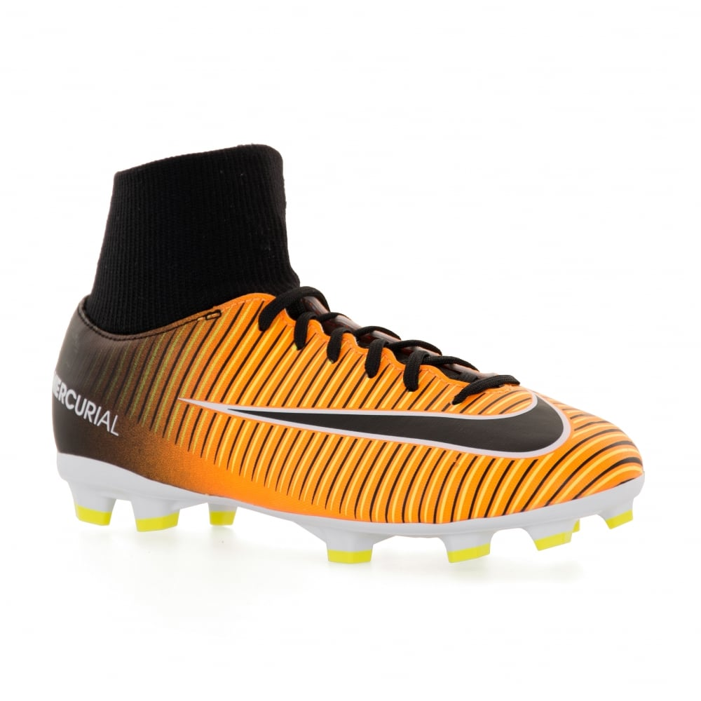 30a4da61b NIKE Nike Juniors Mercurial Victory VI FG Football Boots (Orange ...