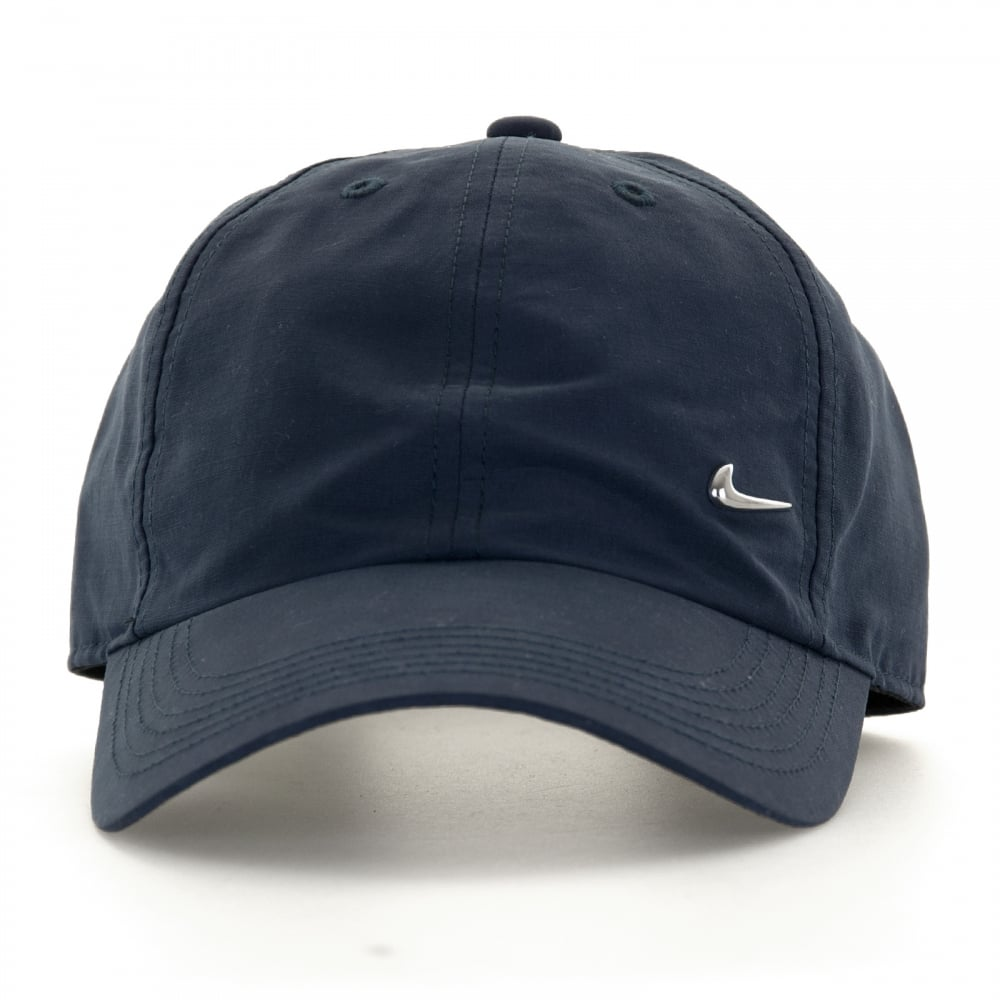 0ffcd15d711 Nike Juniors Metal Swoosh Cap (Navy) - Kids from Loofes UK