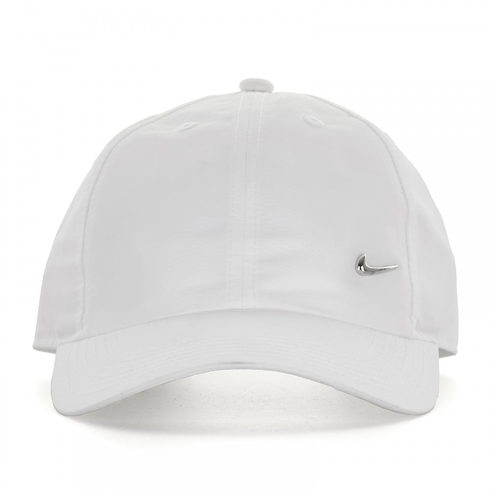 Nike Juniors Metal Swoosh Cap (White) - Kids from Loofes UK ceb6751875c