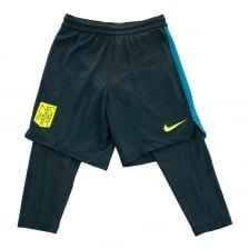 Nike Juniors Neymar Squad 2 In 1 Shorts (Navy)