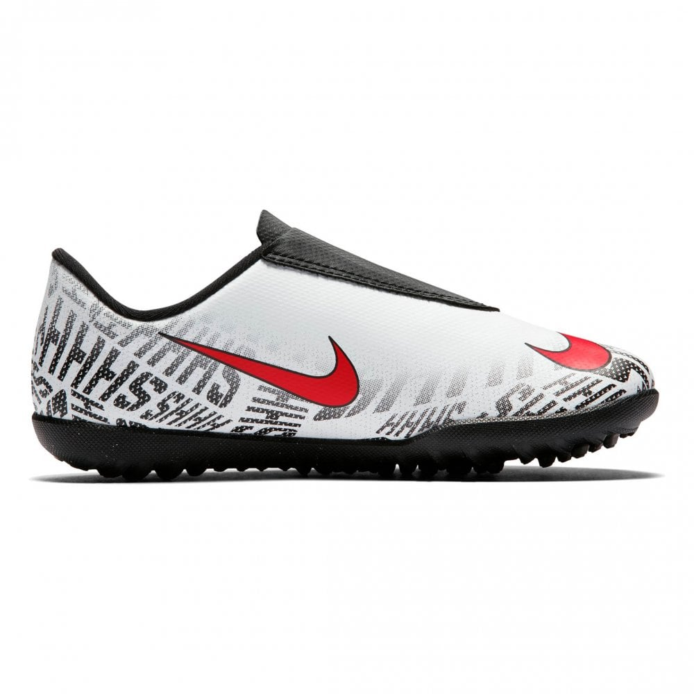 3aa0c90b043f Nike Juniors Neymar Vapor 12 Club TF Football Trainers (White / Red / Black)