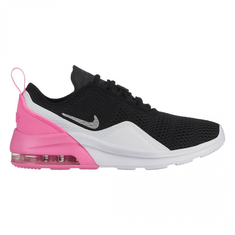 86b4306af851 Nike Juniors Nike Air Max Motion 2 Trainers (Black   White   Pink ...