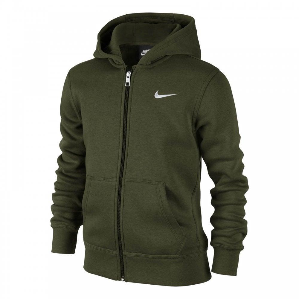 c463641e955d Nike Juniors NSW Core Fleece Hoodie (Khaki) - Kids from Loofes UK
