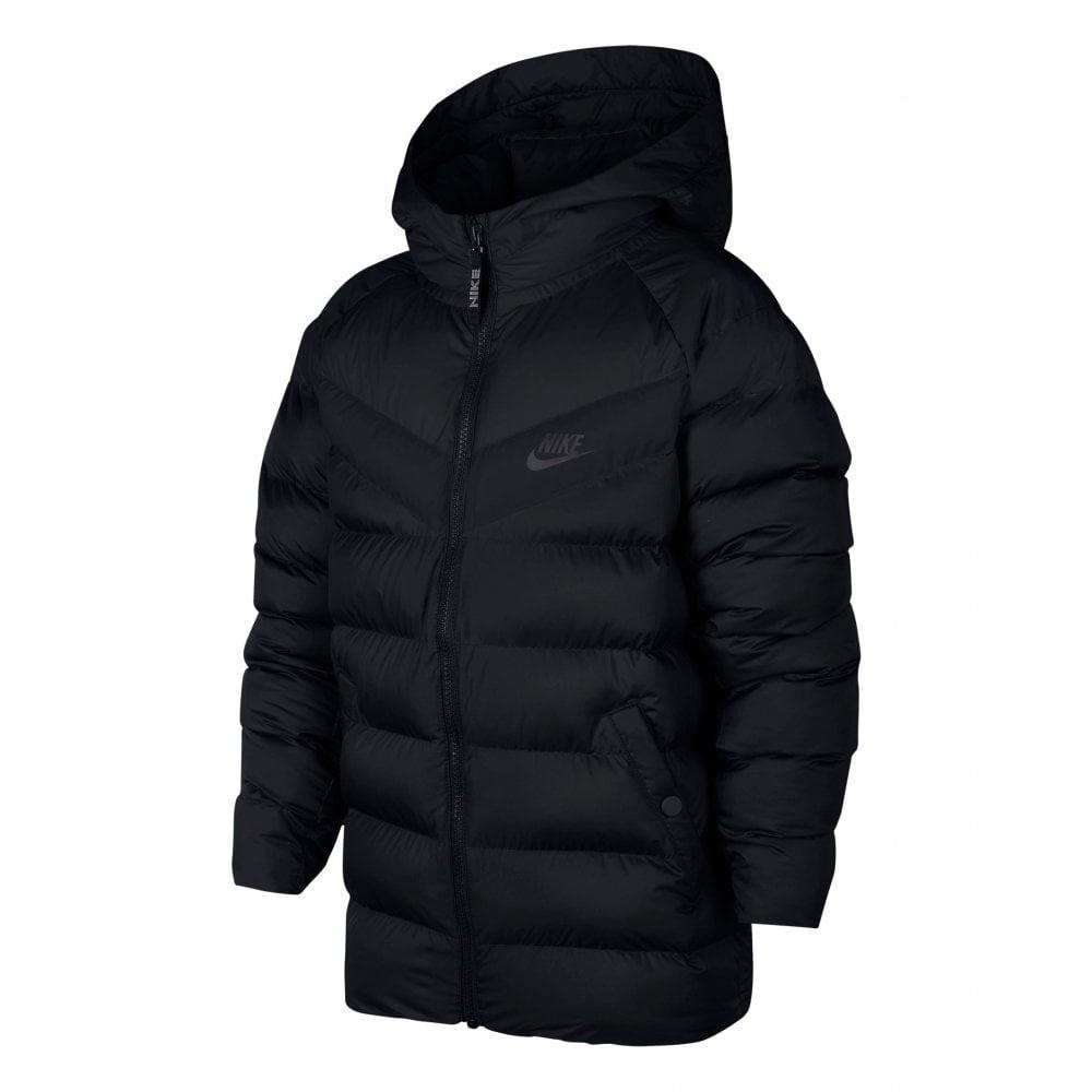 Nike Juniors NSW Padded 318 Jacket (Black) - Kids from Loofes UK ba6cd947f