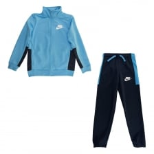 Nike Juniors NSW Track Suit (Blue/Navy)