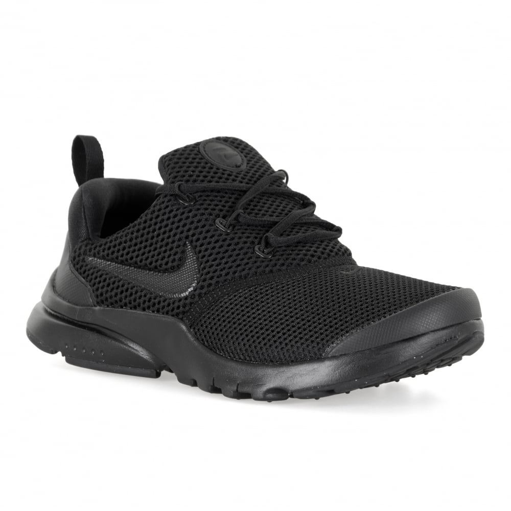 new styles 95ed2 11207 Nike Juniors Presto Fly PS Trainers (Black)