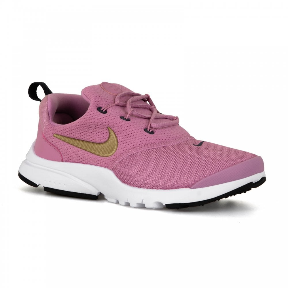 d81261de589a NIKE Nike Juniors Presto Fly Trainers (Pink) - Kids from Loofes UK