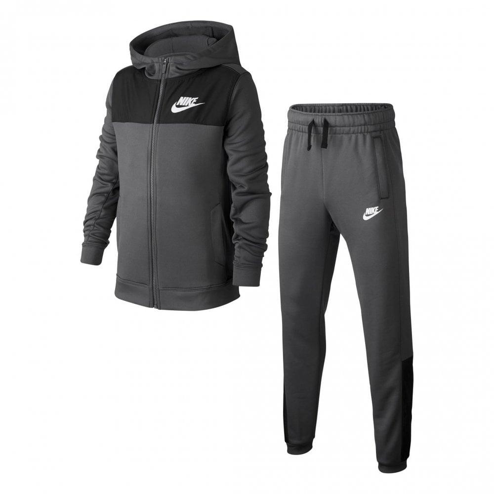 NIKE Nike Juniors Sportswear AV15 Full Track Suit (Grey) - Kids from ... d210a92b0