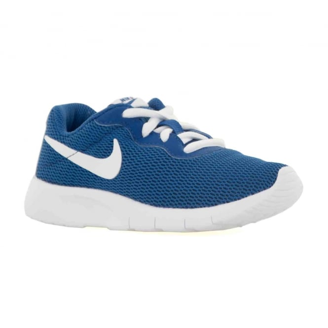 6c8caa1143bb6 nike juniors tanjun 316 trainers game royal blue white kids from loofes uk