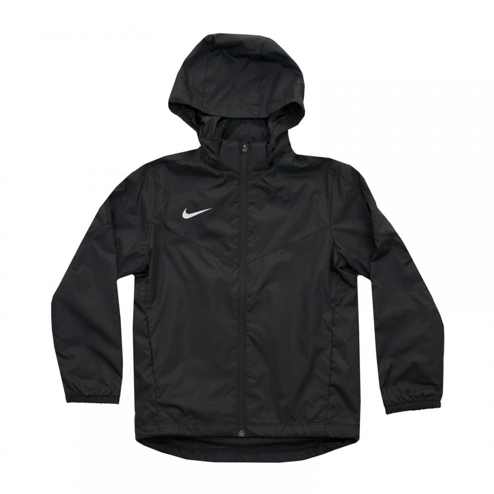 Nike Juniors Team Sideline Rain Jacket (Black) - Kids from Loofes UK